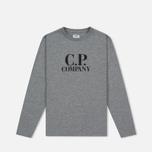 Детский лонгслив C.P. Company U16 Back Print Google Grey фото- 0