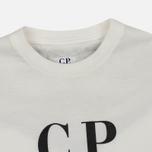 Детский лонгслив C.P. Company U16 Back Print Google White фото- 1