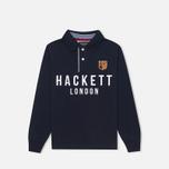 Детский лонгслив Hackett London Navy фото- 0