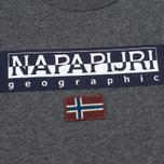 Детский лонгслив Napapijri K Saimaa Dark Grey Melange фото- 2