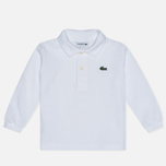 Детский набор Lacoste Infants White Polo And Grey Joggers Gift Set фото- 1