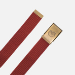 Детский ремень Fjallraven Canvas Brass Deep Red фото- 1