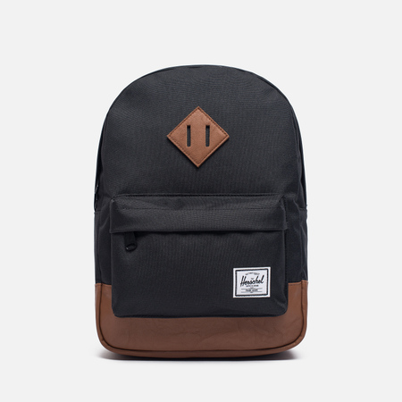 Детский рюкзак Herschel Supply Co. Heritage 9L Black/Tan Synthetic Leather