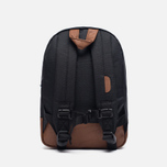 Детский рюкзак Herschel Supply Co. Heritage 9L Black/Tan Synthetic Leather фото- 3