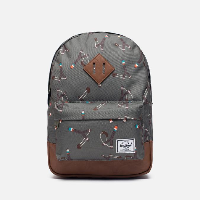 Детский рюкзак Herschel Supply Co. Heritage 9L Sticks & Stones/Tan Synthetic Leather