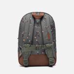 Детский рюкзак Herschel Supply Co. Heritage 9L Sticks & Stones/Tan Synthetic Leather фото- 3