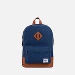 Herschel Supply Co. Heritage Children's backpack Navy/Tan PU photo- 0