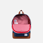 Herschel Supply Co. Heritage Children's backpack Navy/Tan PU photo- 3