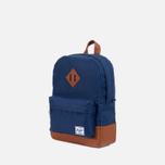 Herschel Supply Co. Heritage Children's backpack Navy/Tan PU photo- 1