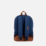 Herschel Supply Co. Heritage Children's backpack Navy/Tan PU photo- 2