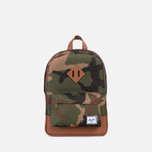 Детский рюкзак Herschel Supply Co. Heritage Woodland Camo/Tan PU фото- 0