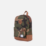 Детский рюкзак Herschel Supply Co. Heritage Woodland Camo/Tan PU фото- 1