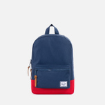 Детский рюкзак Herschel Supply Co. Settlement Navy/Red/Tan фото- 0