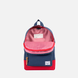 Детский рюкзак Herschel Supply Co. Settlement Navy/Red/Tan фото- 3