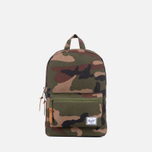 Детский рюкзак Herschel Supply Co. Settlement Woodland Camo/Army Rubber фото- 0