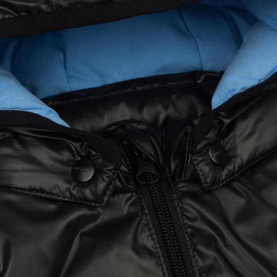 Детский жилет adidas Originals x Mini Rodini Hoodie Black/Bahia Light Blue