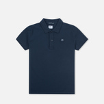 C.P. Company U16 Short Sleeve Children's Polo Navy photo- 0