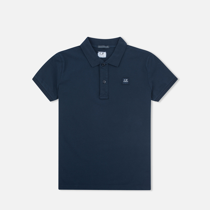 C.P. Company U16 Short Sleeve Children's Polo Navy