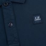 C.P. Company U16 Short Sleeve Children's Polo Navy photo- 2
