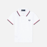 Детское поло Fred Perry My First White/Red/Navy фото- 1