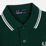 Fred Perry Twin Tipped Children's Polo Ivy/Snow White photo- 2