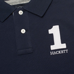 Детское поло Hackett Numbered Navy фото- 2