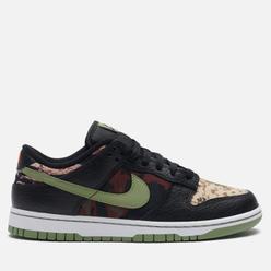 Мужские кроссовки Nike Dunk Low SE Crazy Camo Black/Oil Green/White/Total Orange