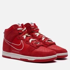 Мужские кроссовки Nike Dunk High SE First Use University Red/Sail/University Red/Sail