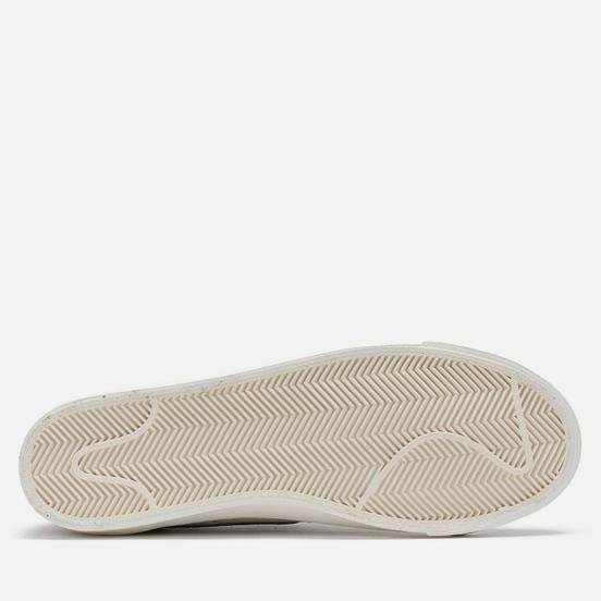 Мужские кроссовки Nike Blazer Low 77 PRM Removable Swoosh Black/Deep Royal Blue/Light Stone