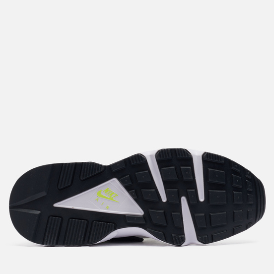 Женские кроссовки Nike Air Huarache White/Neon Yellow/Magenta/Black