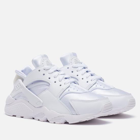 Женские кроссовки Nike Air Huarache White/Pure Platinum