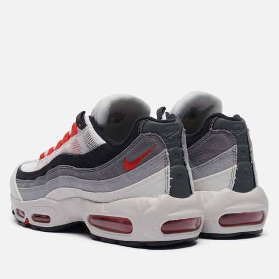 Кроссовки Nike Air Max 95 QS Comet Summit White/Chile Red/Off Noir