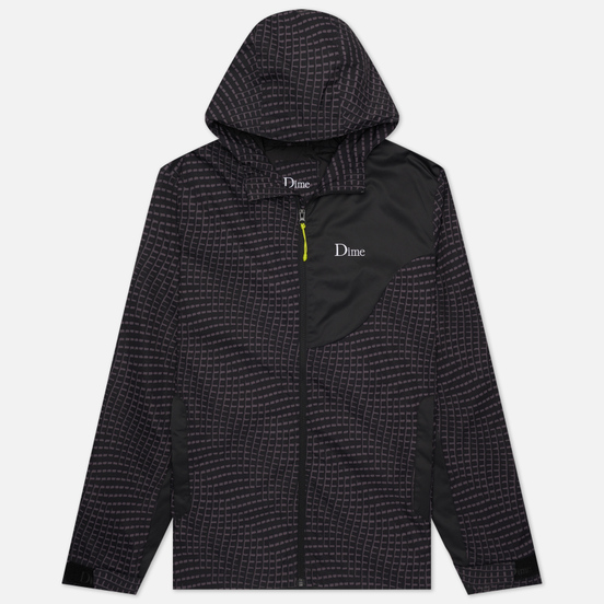 Мужская куртка ветровка Dime Warp Shell Windbreaker Black