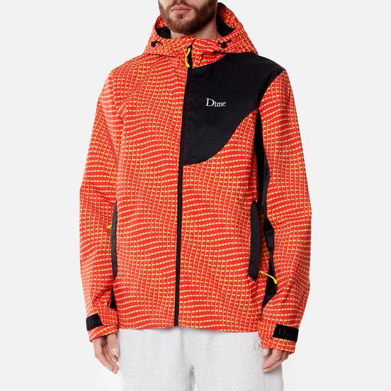 Мужская куртка ветровка Dime Warp Shell Windbreaker Red