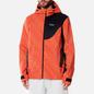 Мужская куртка ветровка Dime Warp Shell Windbreaker Red фото - 3