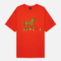 Мужская футболка Dime Trojan Burnt Orange фото - 0