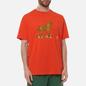 Мужская футболка Dime Trojan Burnt Orange фото - 2