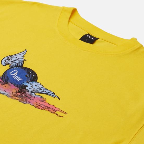 Мужская футболка Dime Air Ball Yellow