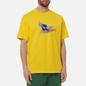 Мужская футболка Dime Air Ball Yellow фото - 2