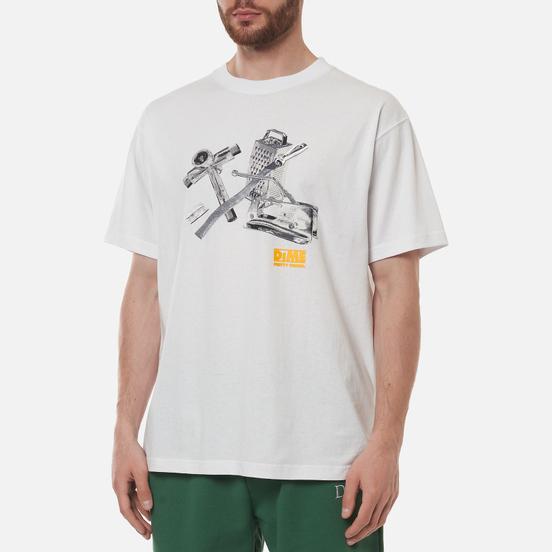 Мужская футболка Dime Toolie White
