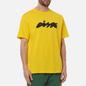 Мужская футболка Dime Bubbly Yellow фото - 2