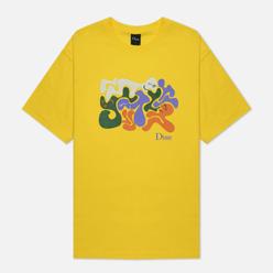 Мужская футболка Dime Laying Yellow