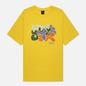 Мужская футболка Dime Laying Yellow фото - 0