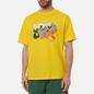 Мужская футболка Dime Laying Yellow фото - 2