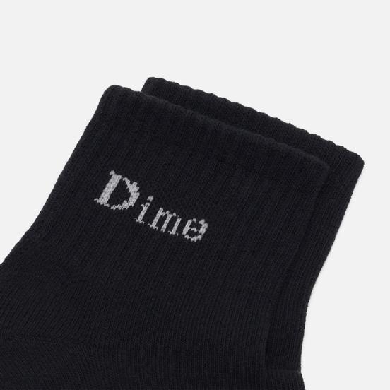 Носки Dime Logo Ankle Black