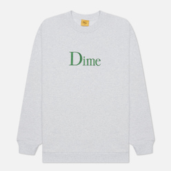 Мужская толстовка Dime Dime Classic Embroidered Crew Neck Ash