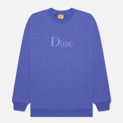 Мужская толстовка Dime Dime Classic Embroidered Crew Neck Iris
