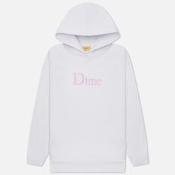 Мужская толстовка Dime Dime Classic Embroidered Hoodie White