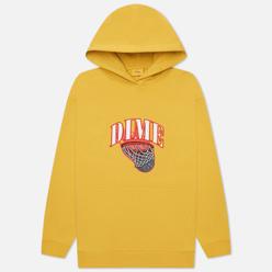 Мужская толстовка Dime Basketbowl Patch Hoodie Dark Yellow
