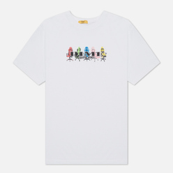 Мужская футболка Dime Creative Agency White